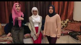 Sophia Leone Bride & Sexy Friend's Fuck (Group Sex) in Hijab Fucked By Stripper (Full Sex Tape)