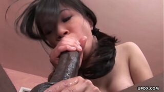 Asia Zo had hardcore sex with a black man, yesterday